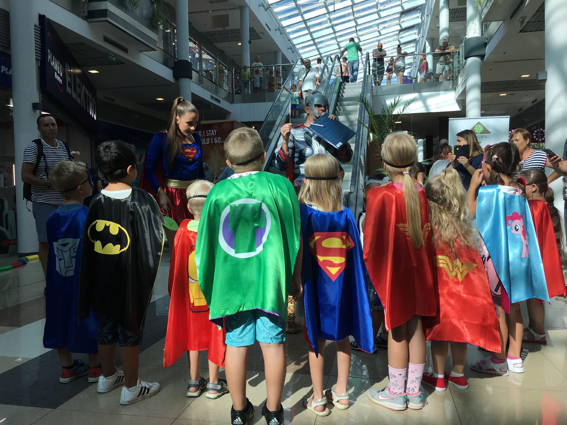 Originálna párty superhrdinov