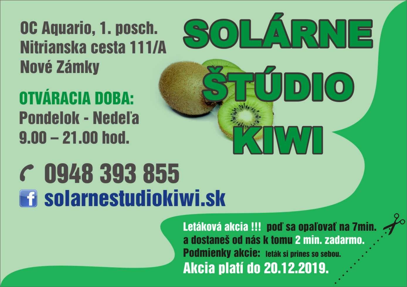 Solárne štúdio KIWI